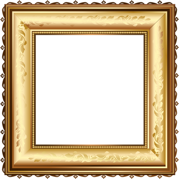 Brown And Gold Transparent Photo Frame Frame Frame Clipart Photo Frame Gallery