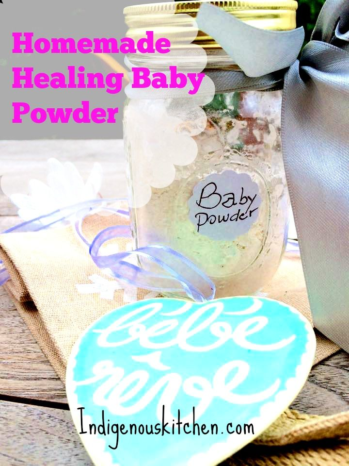 Most store bought baby powders contains talc which is a
