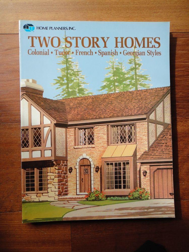 Paperback Home Planners Inc Floor Plans Ebay Blueprints Ideas Picture