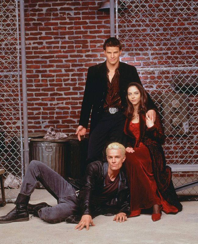 Family:Angel,Drusilla,and Spike
