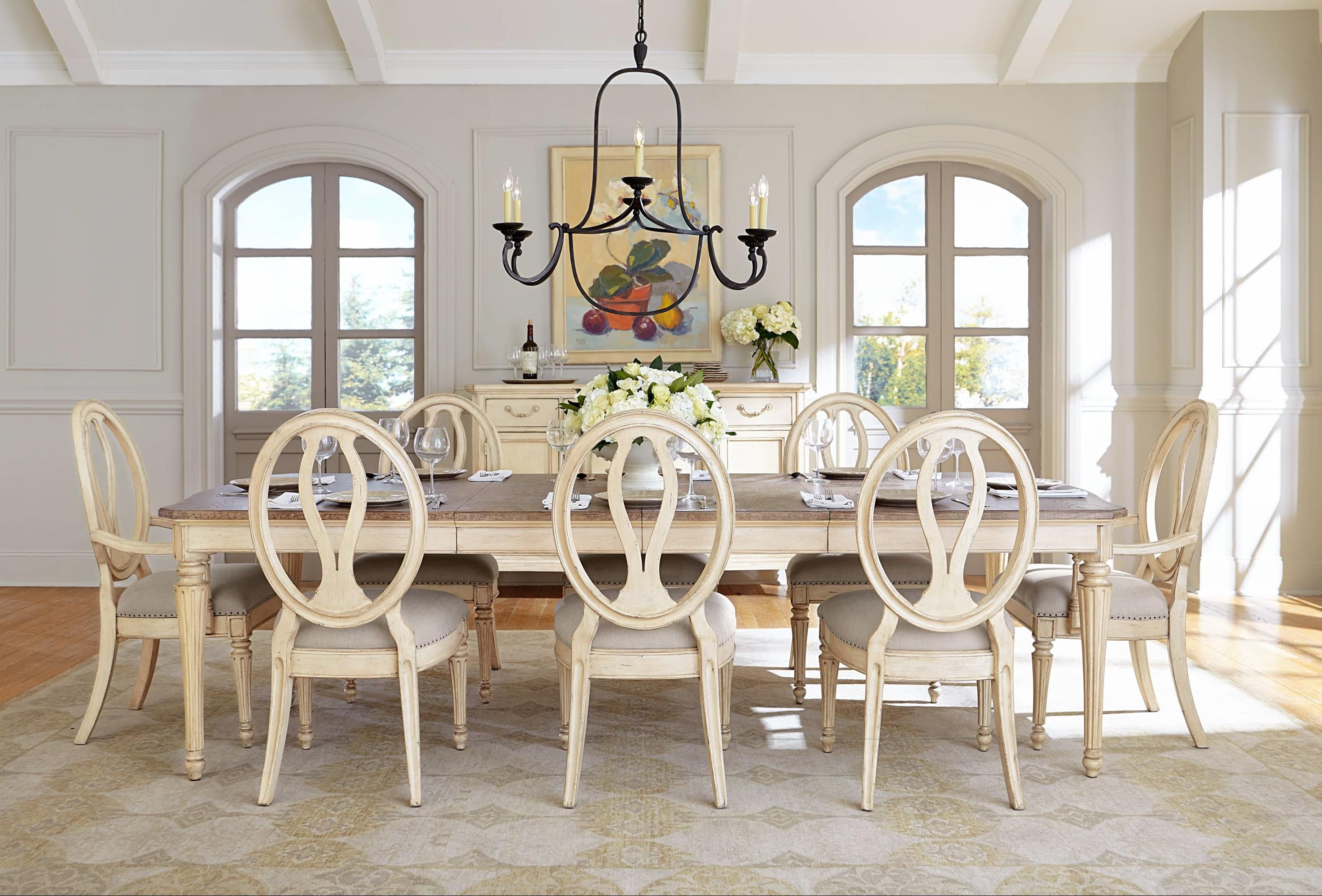 European Cottage Formal Dining Room Group by Stanley