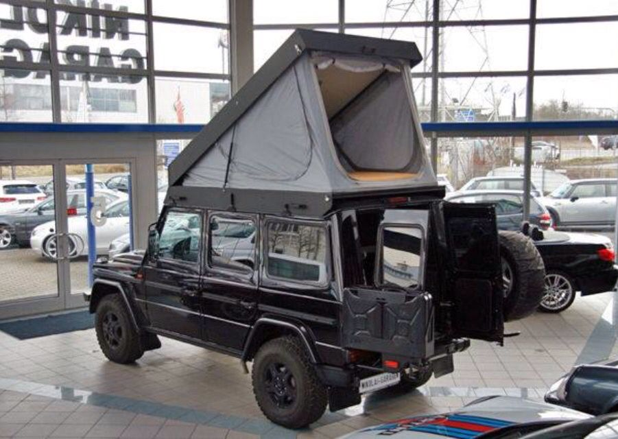 Mercedes G Wagon Camper   not sure how I feel about this