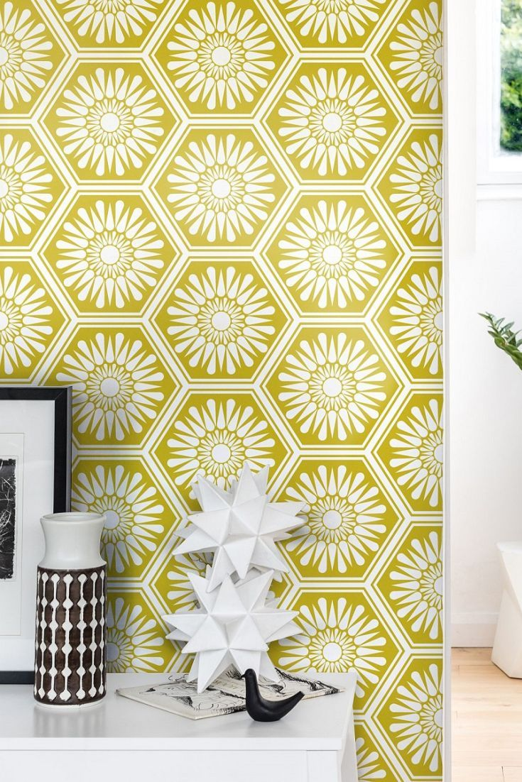 Hex wallpaper design by Layla Faye.   Towne Ave.   Pinterest ...