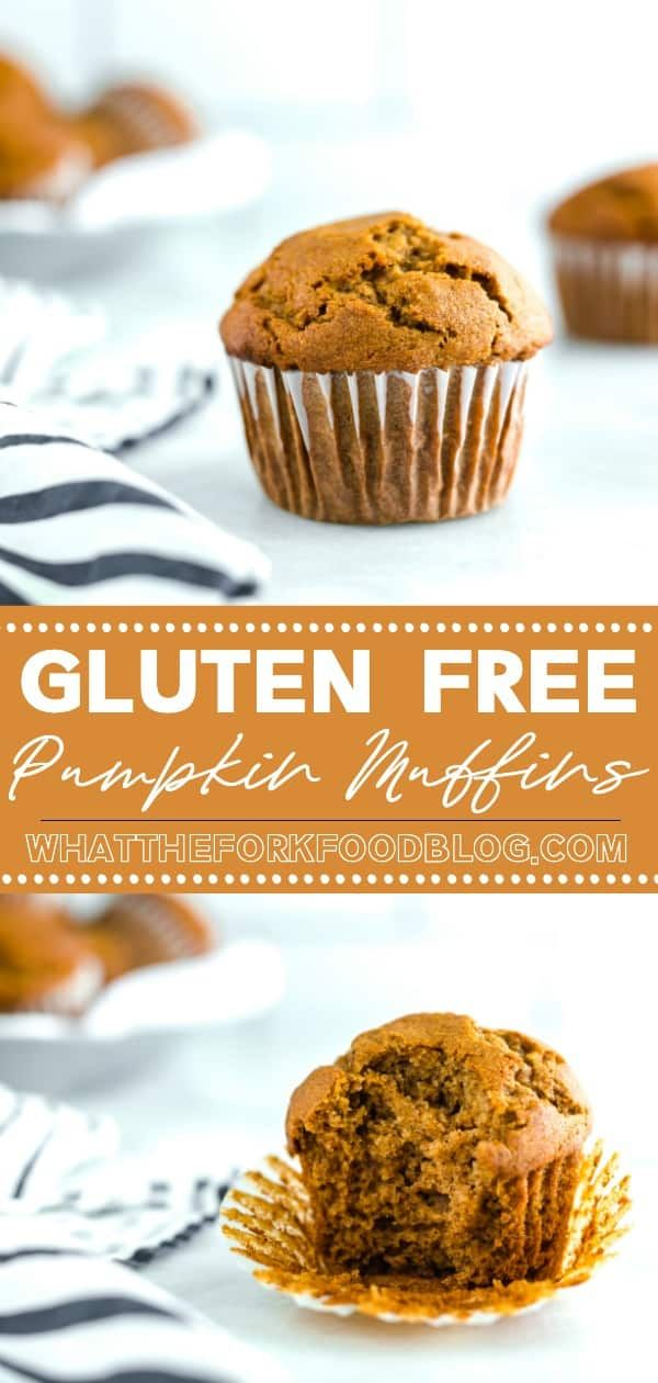 Easy Gluten Free Pumpkin Muffins Recipe #glutenfreebreakfasts