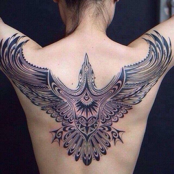Maori Vogel Tattoo Frau Polynesisches Tattoo Tattoo Ideen