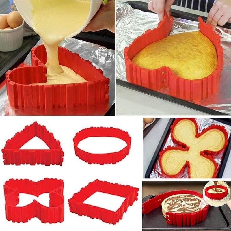 Diy Cake Baking Shaper Cake Molds Silicone Cake Mold Baking Molds