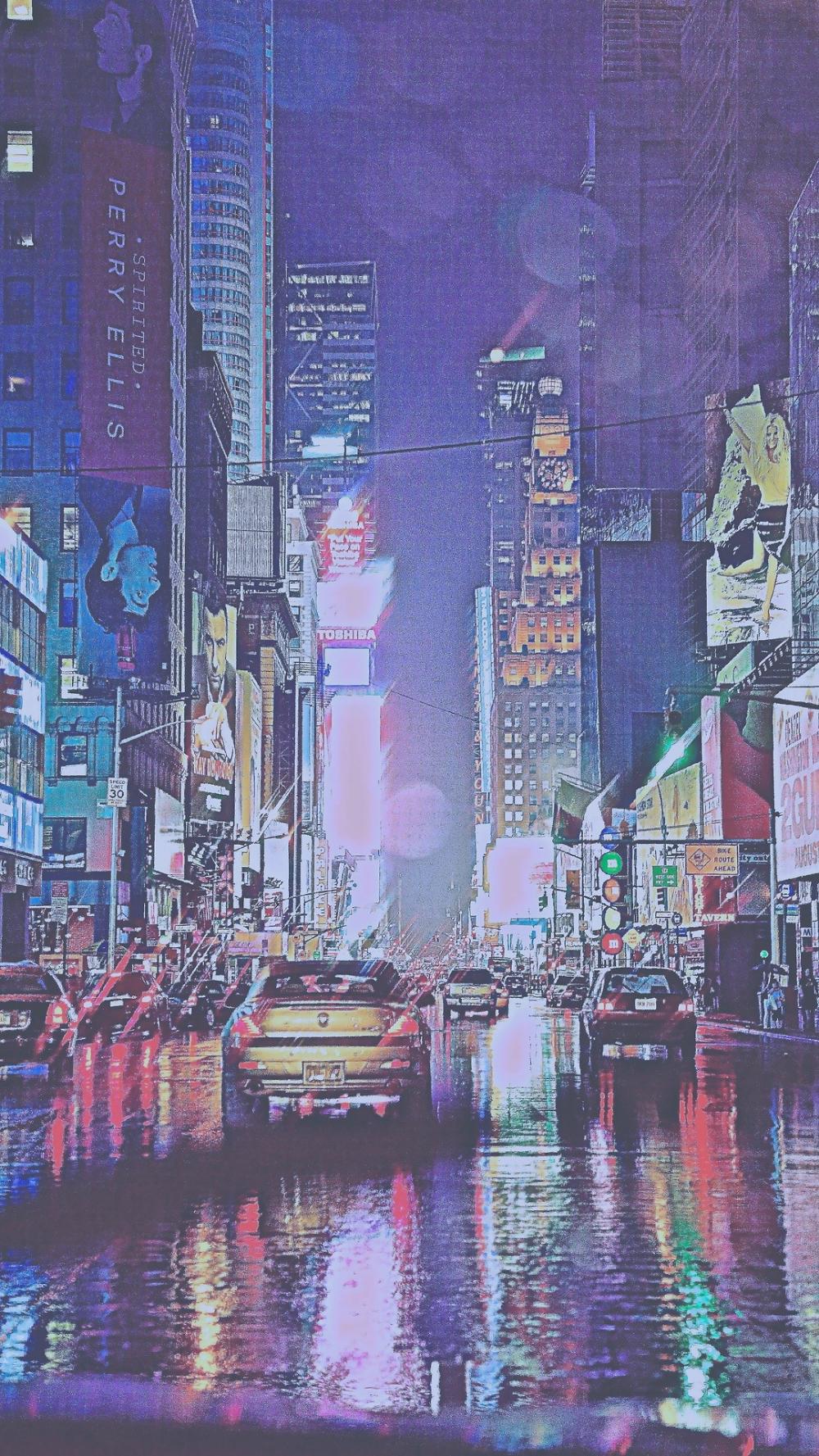 夜景のイラスト Iphone 壁紙 Iphone 写真 ビンテージ写真
