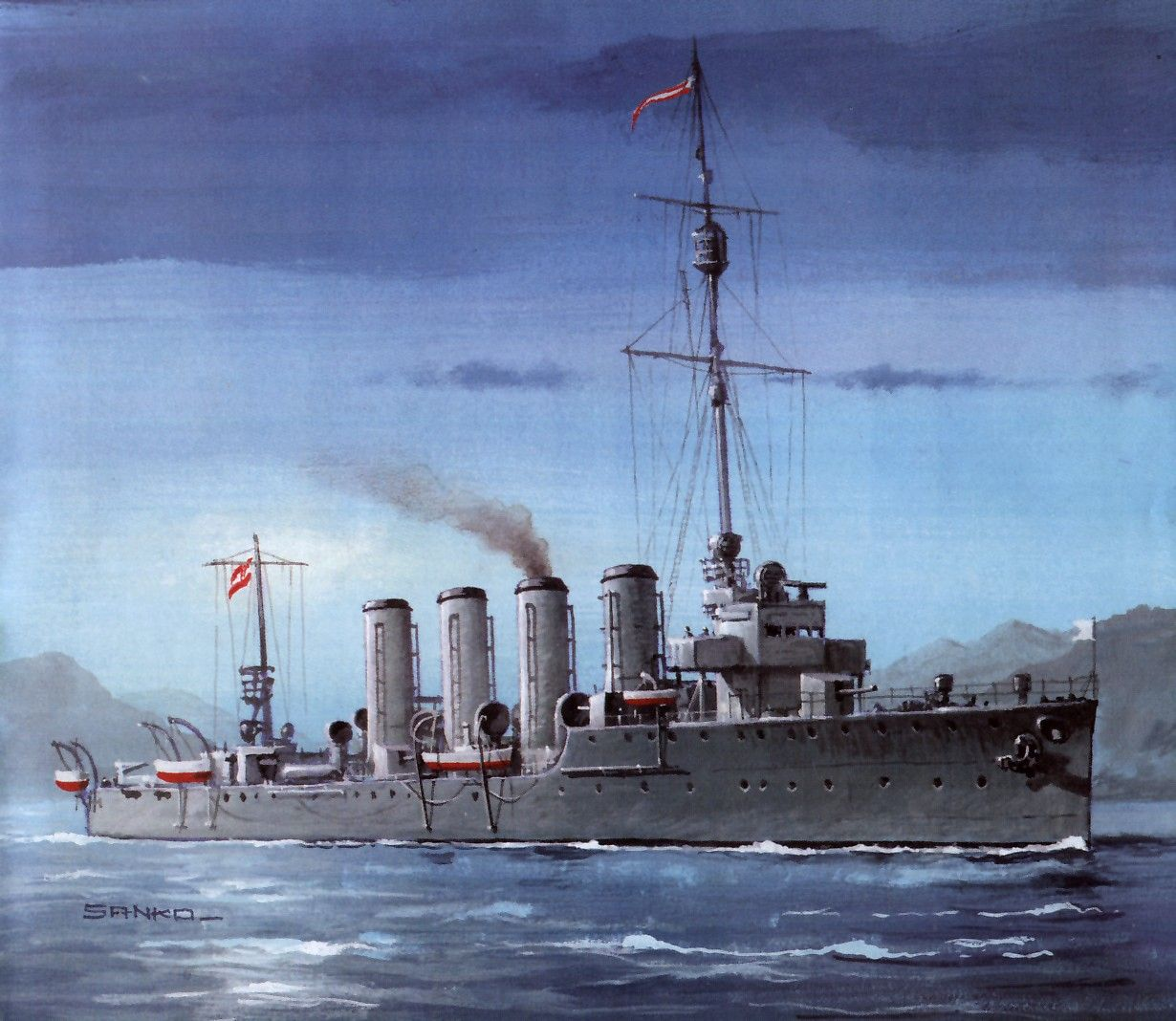 Austro- Hungarian Destroyer