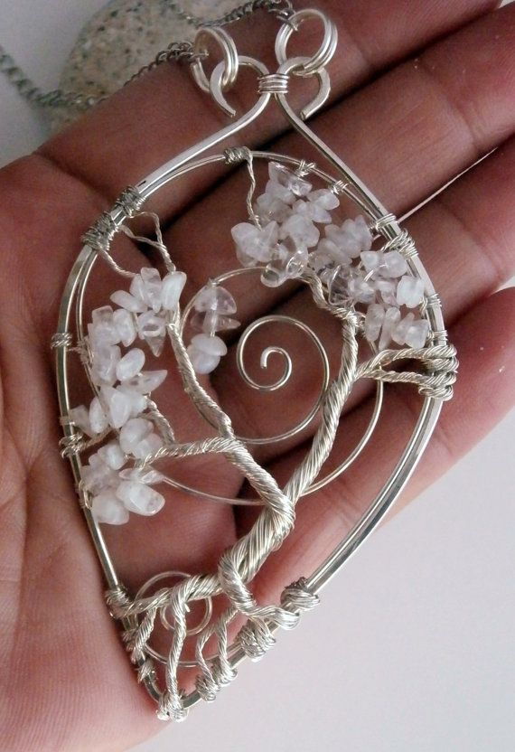 Wire Wrapped Bonsai Tree of Life Pendant by PerfectlyTwisted | tree ...