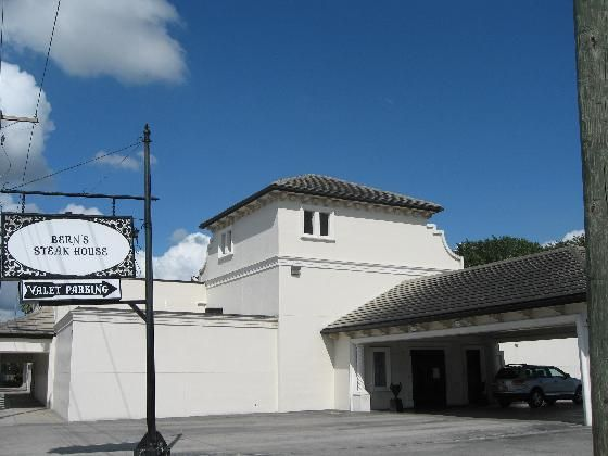 Bern S Steak House In Tampa Florida The Outside Not So Great The