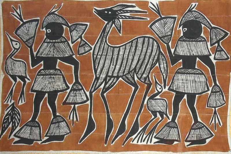 les tissus africains toiles de korhogo s noufo nord cote d 39 ivoire afric pinterest. Black Bedroom Furniture Sets. Home Design Ideas