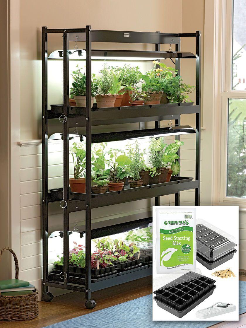 T5 Grow Lights 3 Tier Garden Starter Grow Light Kit 400 x 300