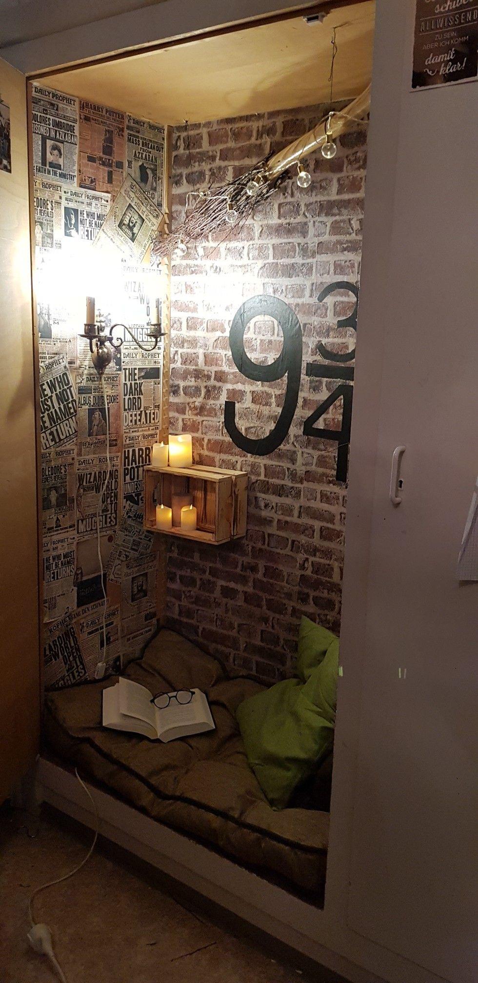 Wall Closet Reading Corner Leseecke Kinder Zimmer Einrichten Schrankwand