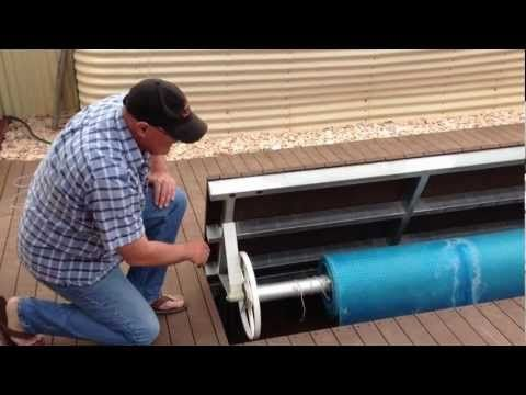 Diy Underground Swimming Pool Cover Holder Explanation Video