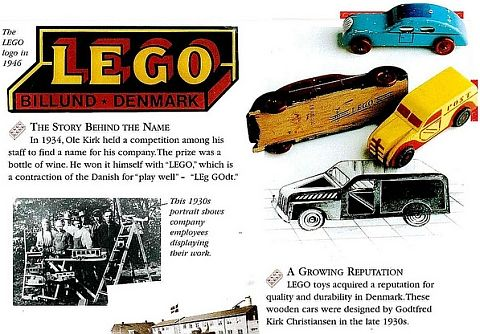 Before LEGO used plastic... http://thebrickblogger.com/2012/08/how ...