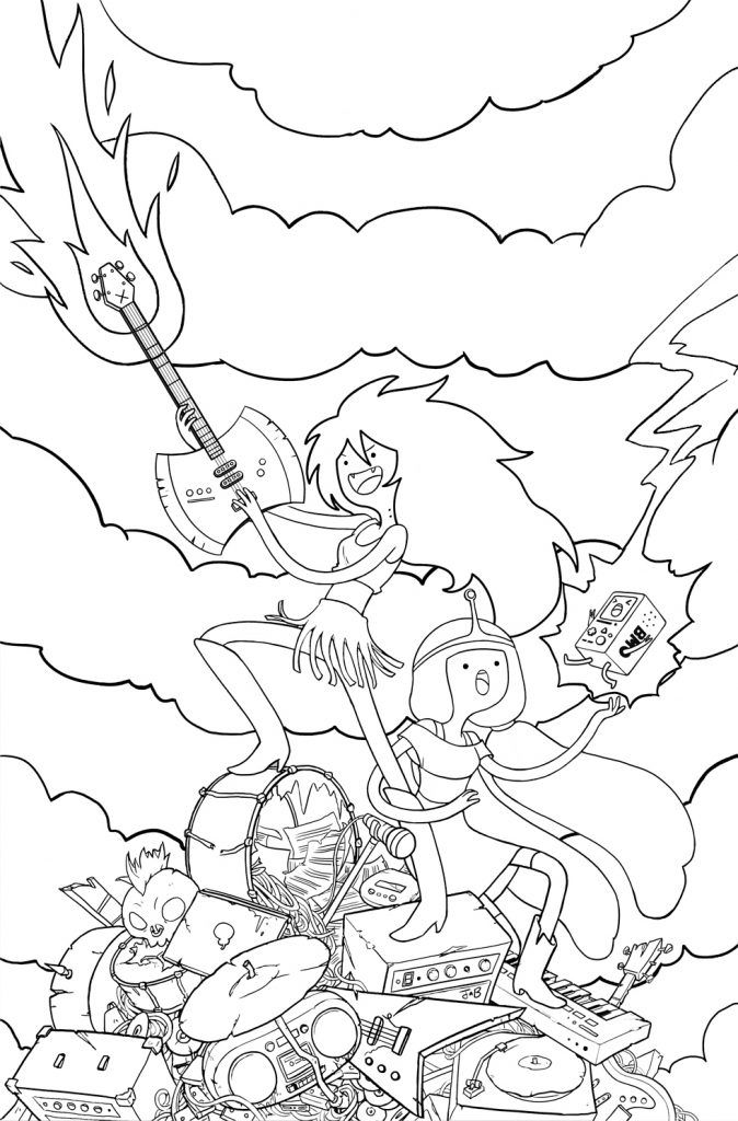 Adventure Time Coloring Pages | Printables. | Pinterest | Crayons
