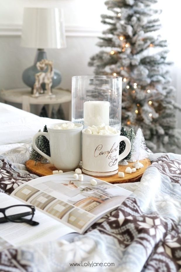 Cozy Christmas Master Bedroom Retreat Ideas