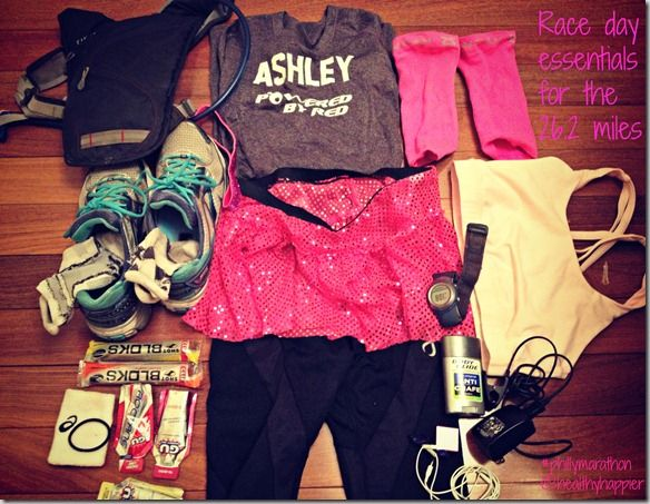 Marathon Essentials- may need this some day ;-)