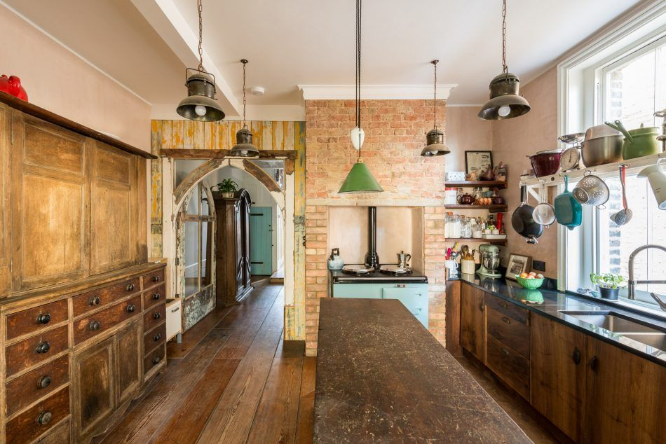 Moderne Baumaterialien adorable townhouse renovated with rustic charm asks 1 9m