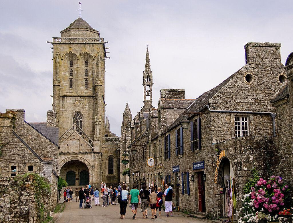 Un carrer bretó / A breton street