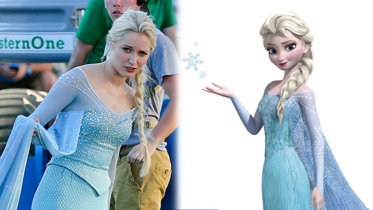 First Look at Frozen's Elsa on 'Once Upon a Time' Set