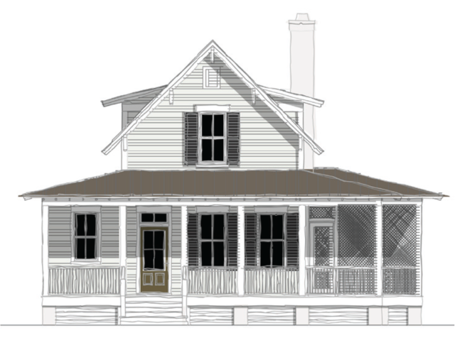 Moser Design Group Tnh Sc 32dl Porch House Plans Small House Floor Plans House Plans