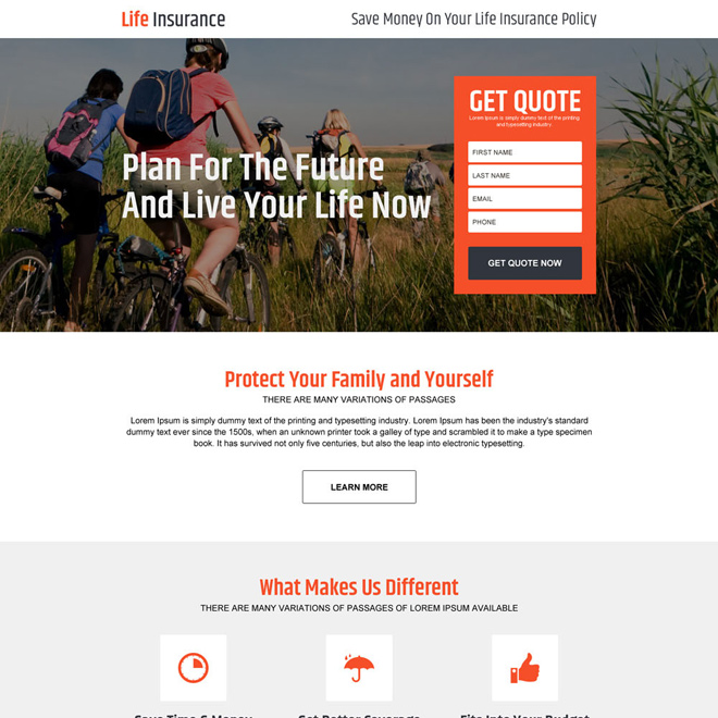 Download life insurance policy for family responsive