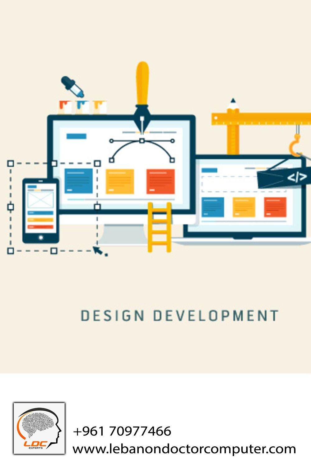 I Want A Website For My Business In Lebanon 96170977466 In 2020 Web Design Company Web Development Design Web Design Services