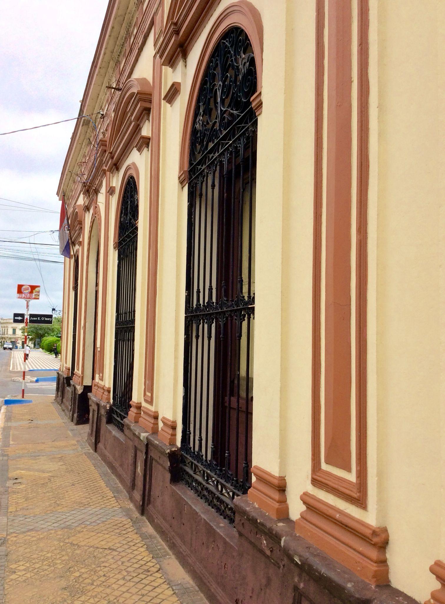 Fachada antigua de Asunción -Paraguay