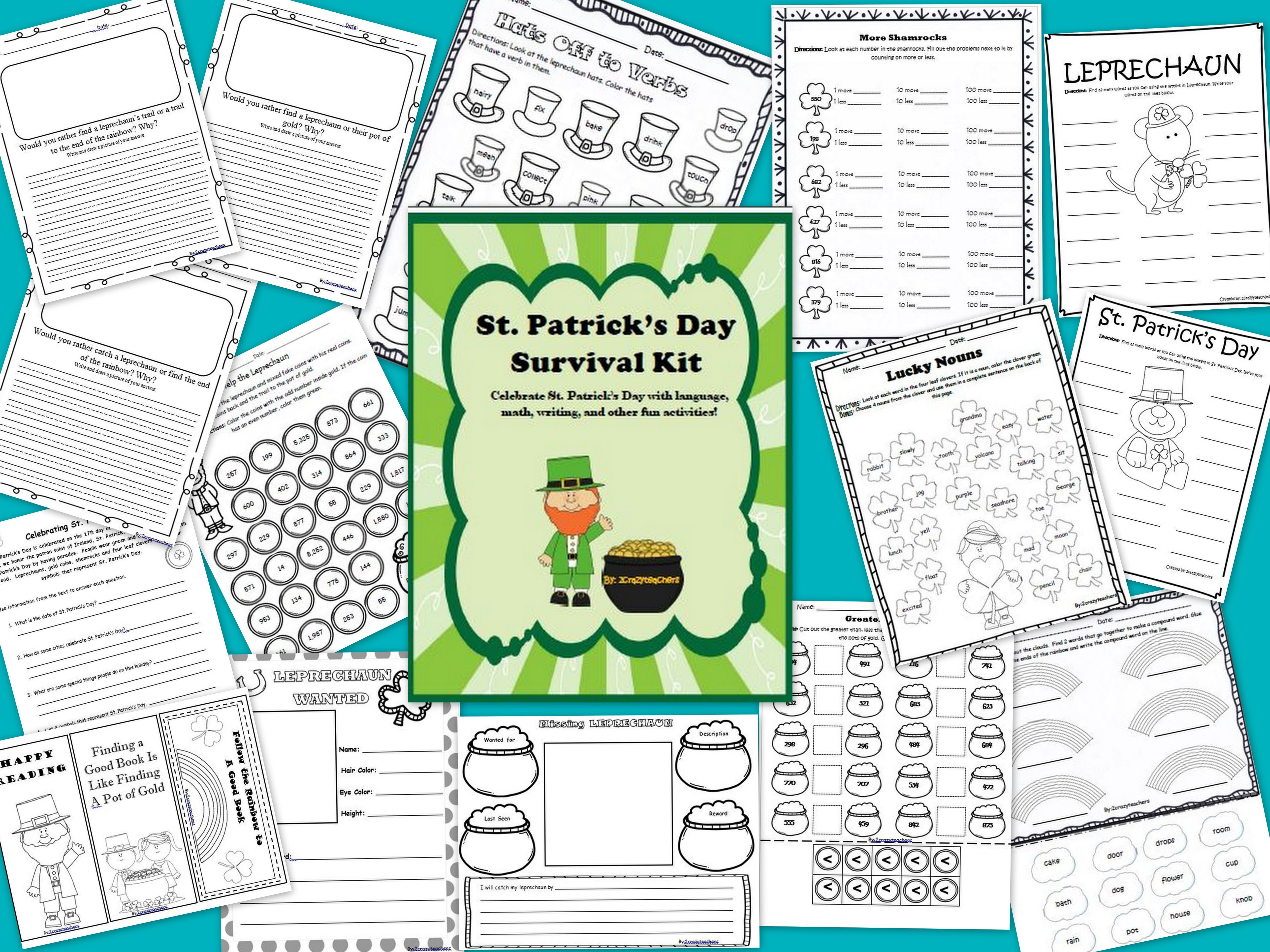 St Patrick S Day Survival Kit With Images