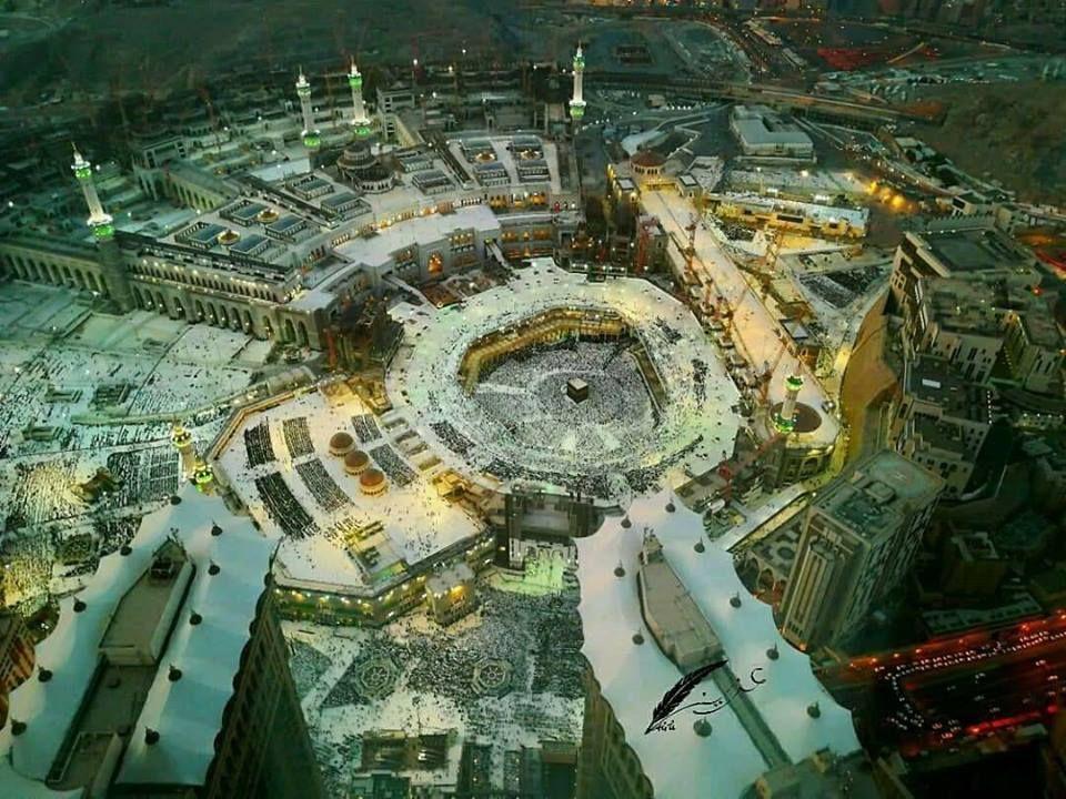 Top View Of The Kaaba House Of Allah Makkah Kaaba Houseofallah Hajj Umrah Makkah To Know More Visit Www Mzahidtravel Com Top View Makkah Visiting