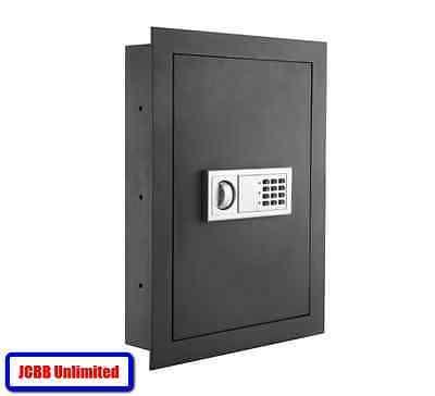 Hidden Wall Safe Home Gun Cash Jewelry Security Lock Electronic Fire Proof Box Wall Safe Safe Home Security Gun Safe
