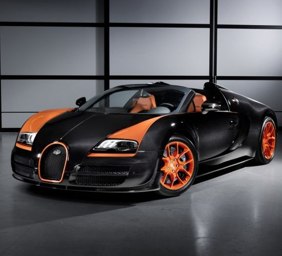 Diamond Bugatti Veyron Super Sport