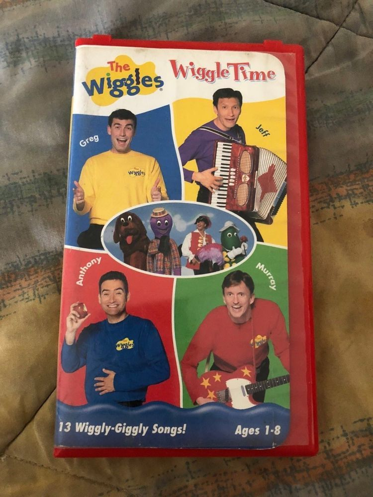 THE WIGGLES VIDEO - WIGGLE TIME* 2000 VHS 13 Giggly Songs