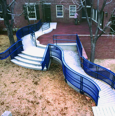 A ramp from the road to the entrance of the house can be a ...