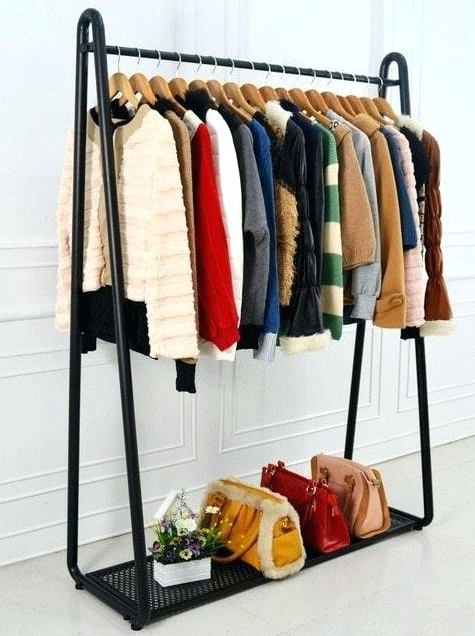 Wholesale Display Racks For Clothes Shop Clothing Rack Clothing