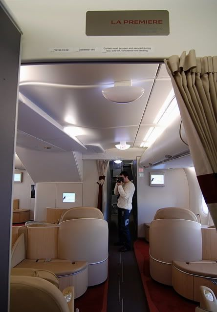 La Premiere Air France First Class On The A380 Air France