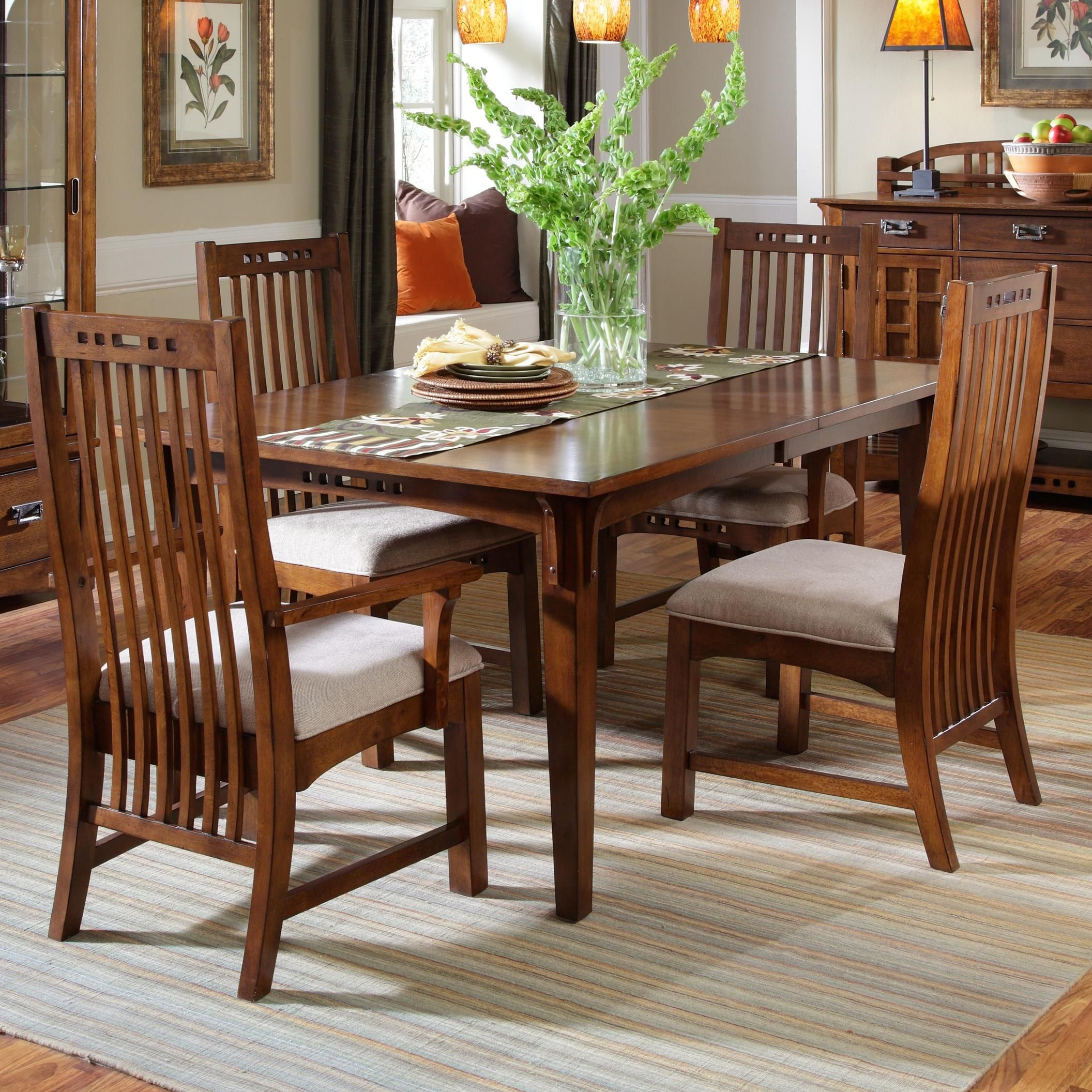 Artisan Ridge 5 Piece Set By Broyhill Furniture Casual Dining