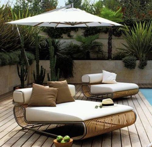 Muebles y diseño en jardín | Muebles de piscina | Pinterest ...