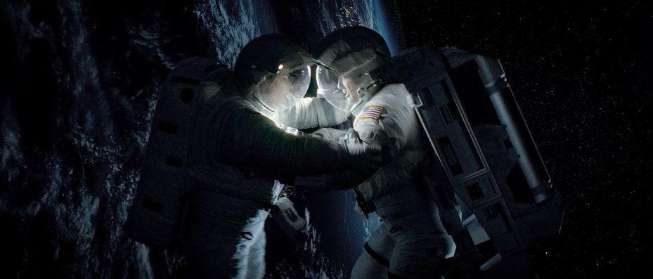 Gravity' Movie Stills | Gravity film, Gravity movie, George clooney
