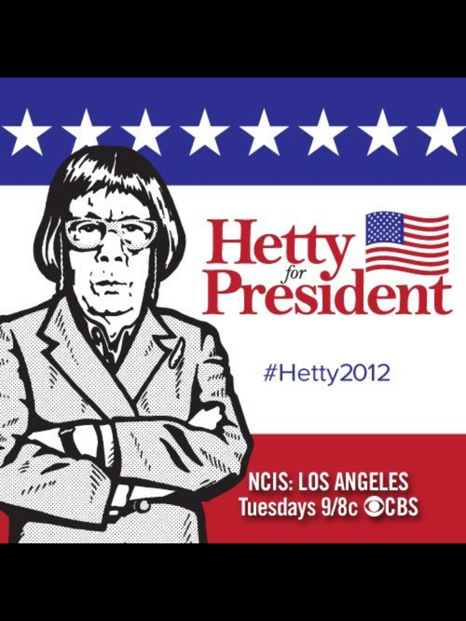 #HettyforPresident