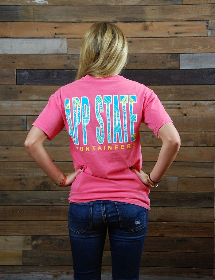 Spring is coming! Enjoy this new Appalachian State Comfort Color t-shirt as well as the great weather. Go Mountaineers