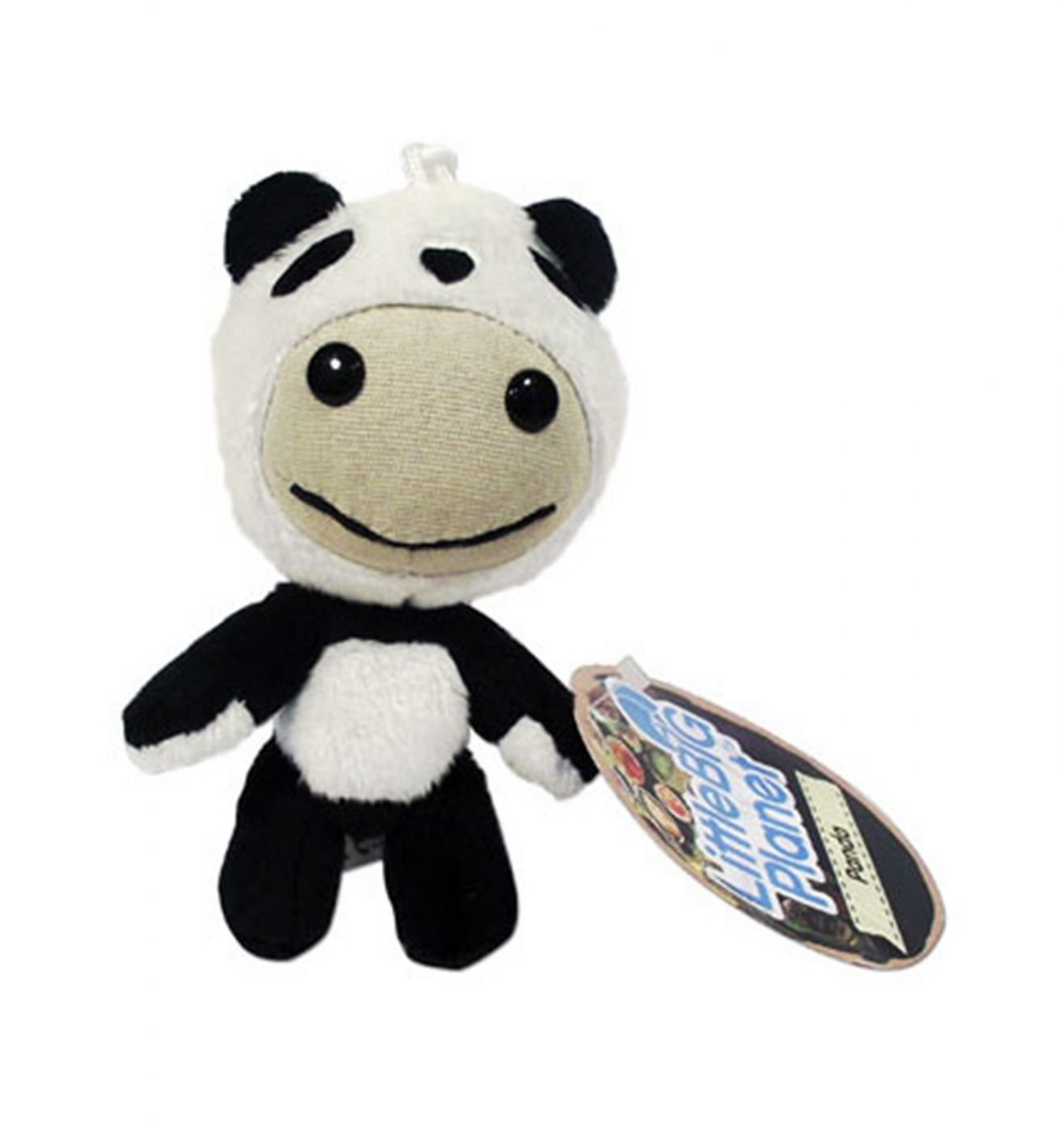 Little Big Planet Panda Plush keyring