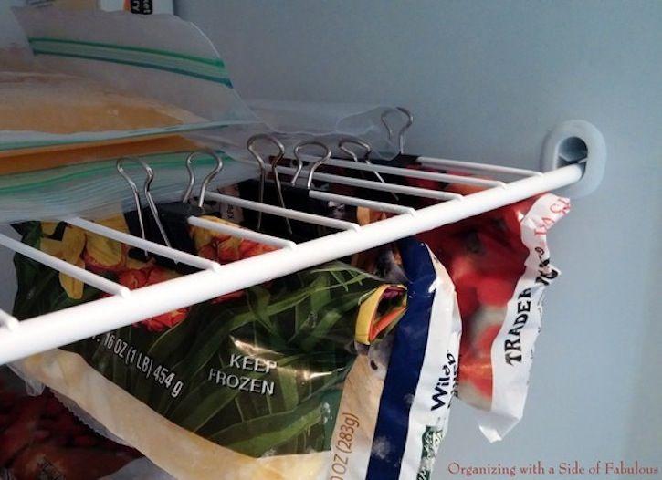 15 Sneaky Tricks To Double Your Storage Space Freezer Hacks