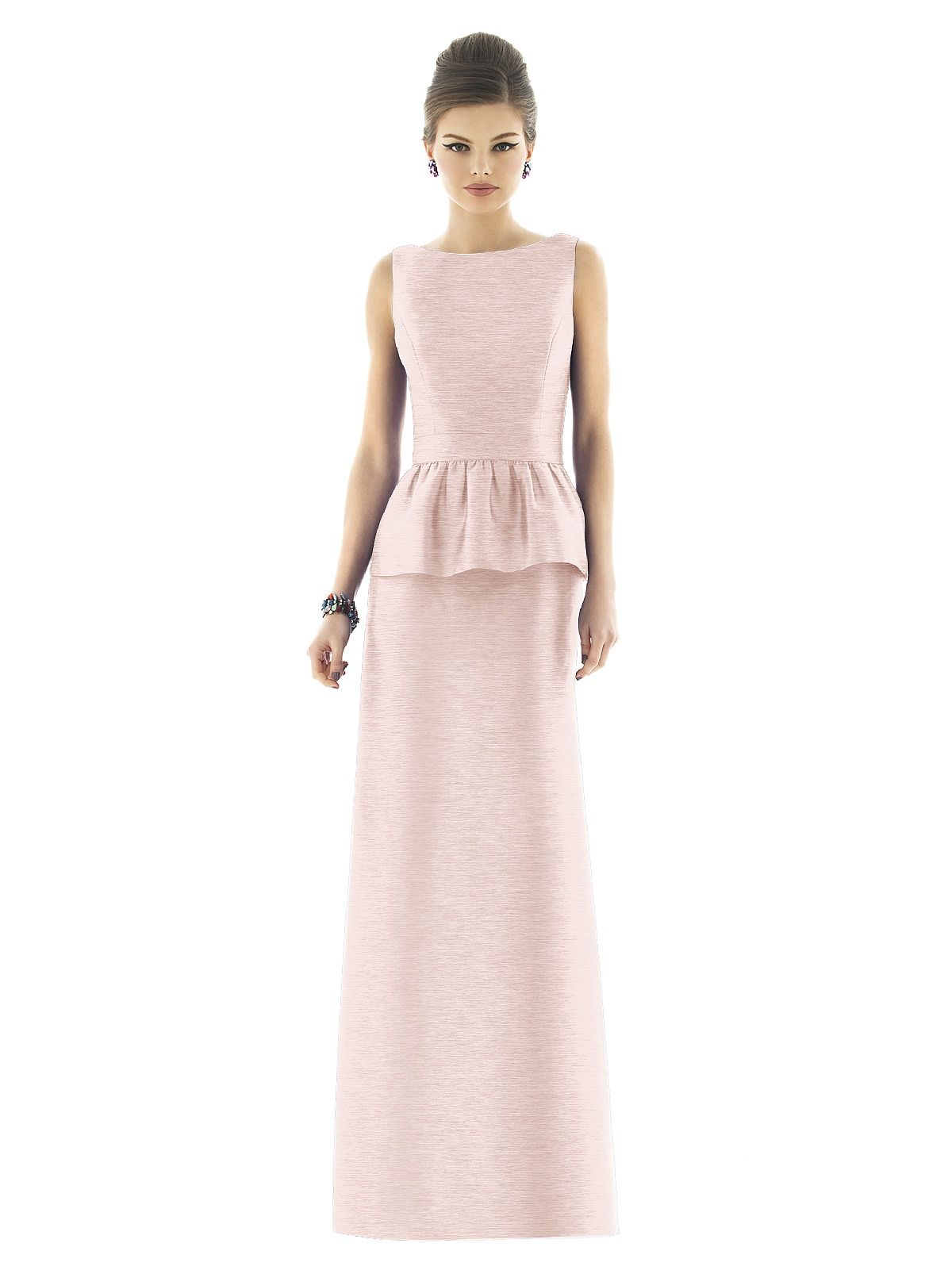 Alfred Sugn Style D559 fabric Dupioni, color in Pearl Pink
