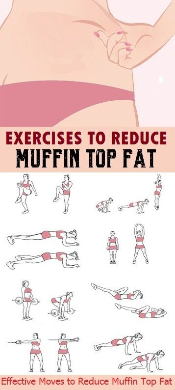 8 Effective Exercises to Reduce Muffin Top Fat