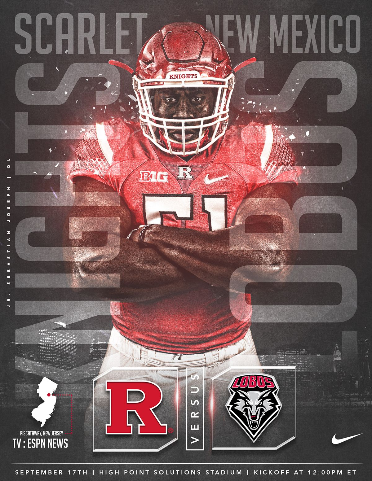 Game Day Graphics Rutgers Football 2016 on Behance