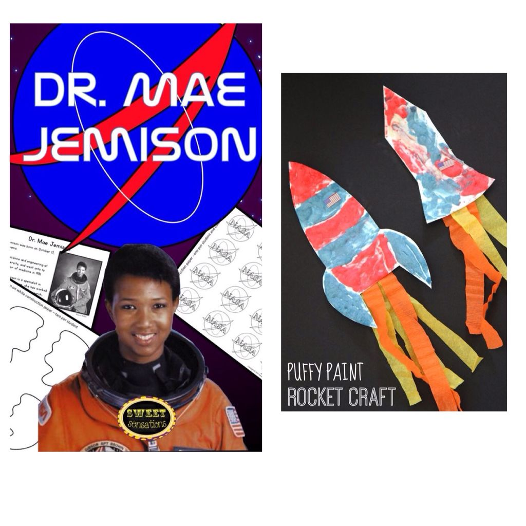 Dr Mae Jemison African American History Month February Black
