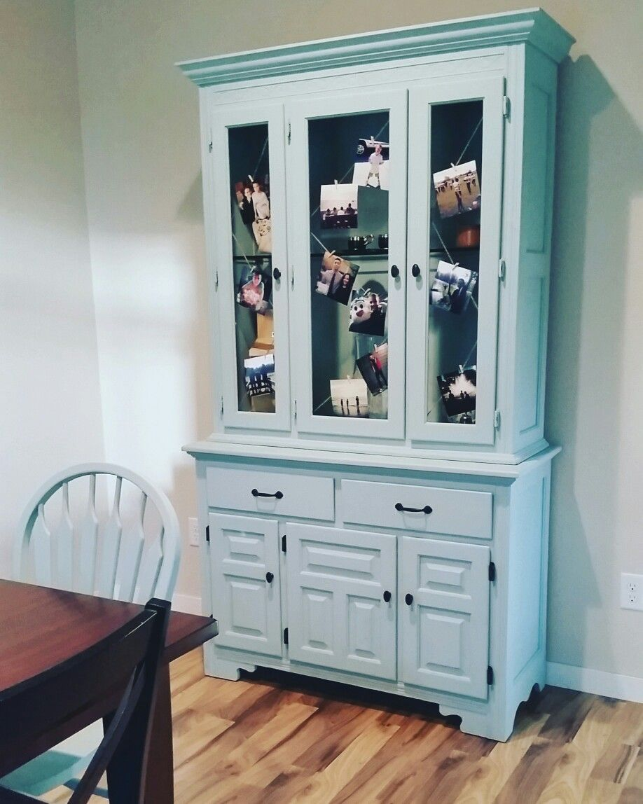 painted furniture rustoleum chalk paint serenity blue decor