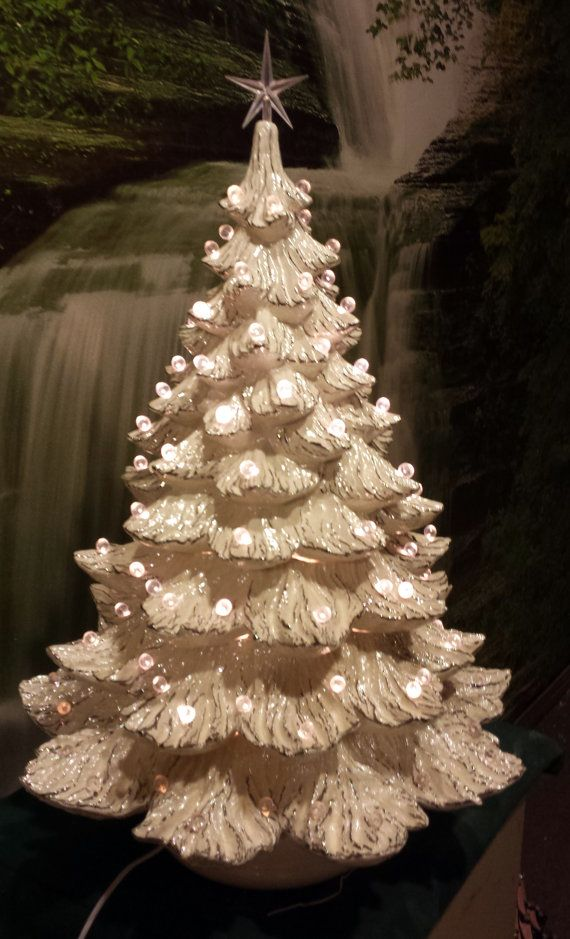 Gorgeous Extra Huge 26 Quot X 18 Quot Ceramic Christmas Tree